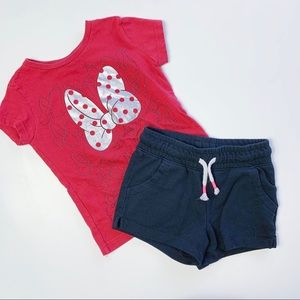 DISNEY CAT & JACK Minnie Mouse Outfit, 3-4T
